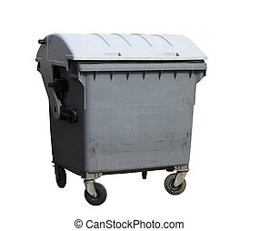 beholder, affald