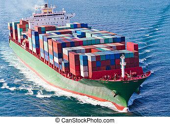 beholder skib