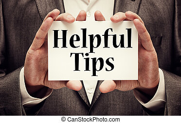 behulpzaam, tips