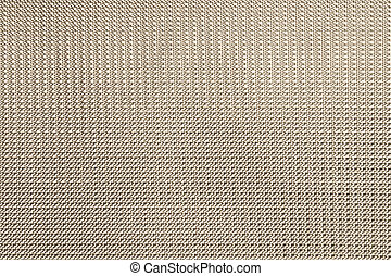 Beige background from artificial material