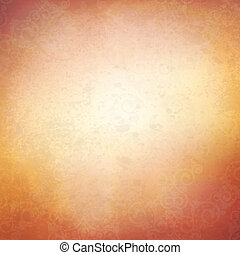 beige background - vector texture of the old wall