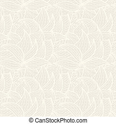 beige background with silhouettes of plants
