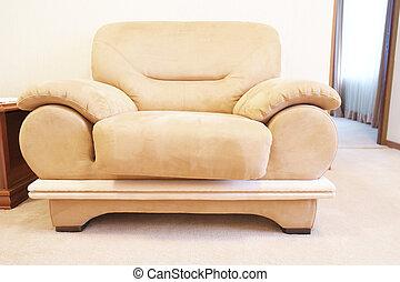 chair - Beige chair