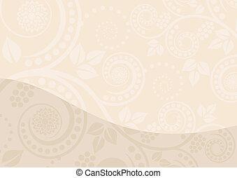 beige fond