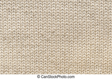 beige knitted texture or background