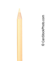 Beige pencil vertically