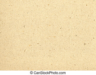 Beige recycled paper - Particles of reused paper form a...
