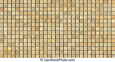 beige stone Mosaic Texture