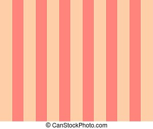 beige stripes on pink background. vertical pattern in geometric style with gradient.