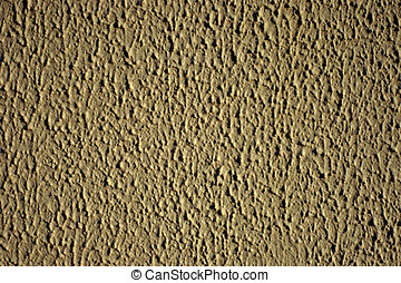 Beige stucco cement