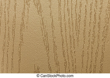 Beige tone of a decorative surface with a relief structure