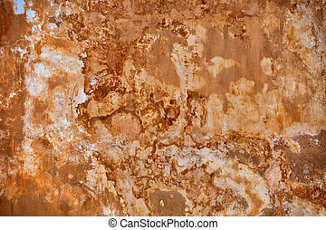 Beige wall with mold - background