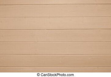 Beige wooden texture background. Copy space, text place. Wood finish material shop. Natural banner. Painted plank timber. Wall lining. Rustic mockup. Indoor interior. Horizontal lines. Pantone color