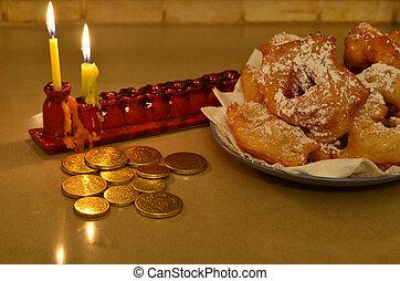 beignets, marocain, hanukkah
