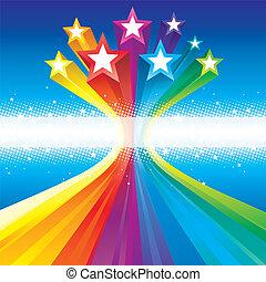 beijedt, celebratory, csillaggal díszít
