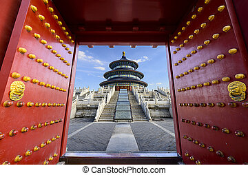 Temple of Heaven - Beijing, China at Temple of Heaven.
