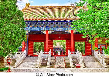 beijing, confucius, confuciano, segundo, más grande, china...