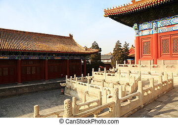 Chinese traditional landscape architecture in the Imperial Ances