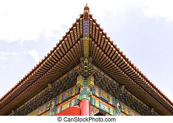 Beijing Forbidden City: view of the