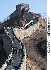 beijing-great, 벽, 의, 중국