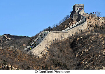 Beijing-Great Wall of China - Great Wall of China.
