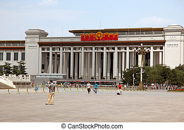 BEIJING - JUNE 11: National Museum of China on Tiananmen...
