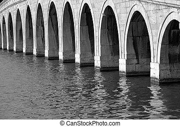 beijing, lago, palacio, puente del arco, verano, kunming, 17