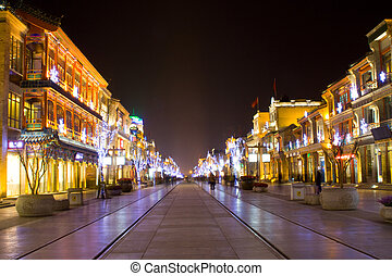 Beijing, noturna