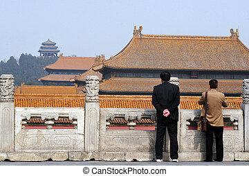 beijing, porzellan, verbotene stadt