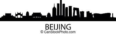 beijing, skyline