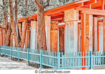 beijing-the, más grande, templo, piedra, china., confucius, ...
