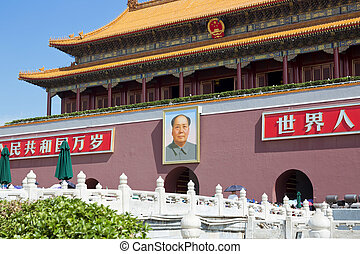 Beijing, Tiananmen Square, Forbidden City