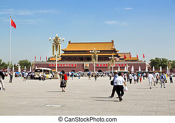 Beijing, Tiananmen Square, Forbidden City - Beautiful view...