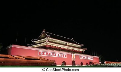 Beijing - Tianmen place