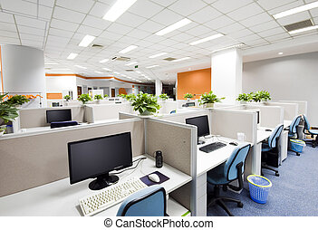 Beijing, trabalho, lugar, escritório