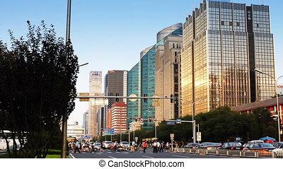 beijing_25a - urban scenery of Beijing, China.