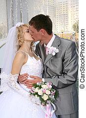 beijo, casório