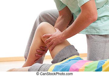 bein, massage