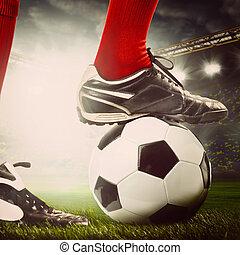 beine, fußballspieler
