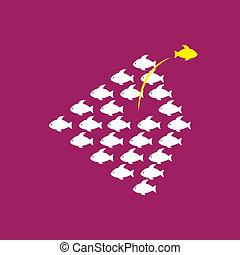 Being different, taking risky, bold move for success in life - C