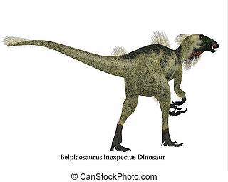 Beipiaosaurus Dinosaur Tail