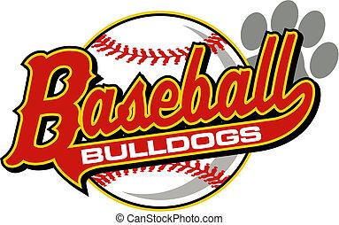 beisball, bulldogs