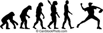 beisball, evolución, cántaro
