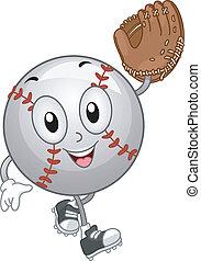 beisball, mascota
