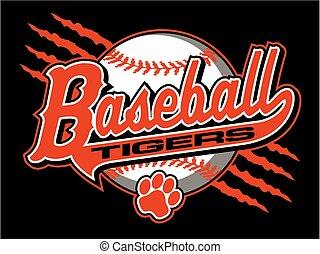 beisball, tigres