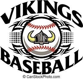 beisball, vikings