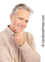 bejaarden, hogere mens