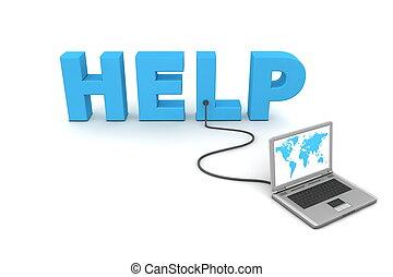 bekabeld, helpen