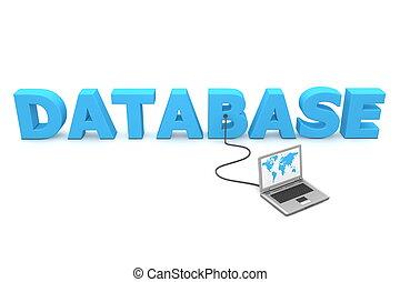 bekabeld, om te, databank