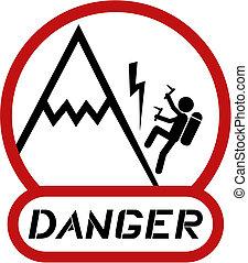 beklimming, gevaar